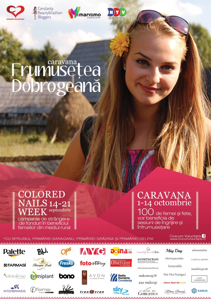 Afis Frumusete Dobrogeana A3 - online (cu Palette)